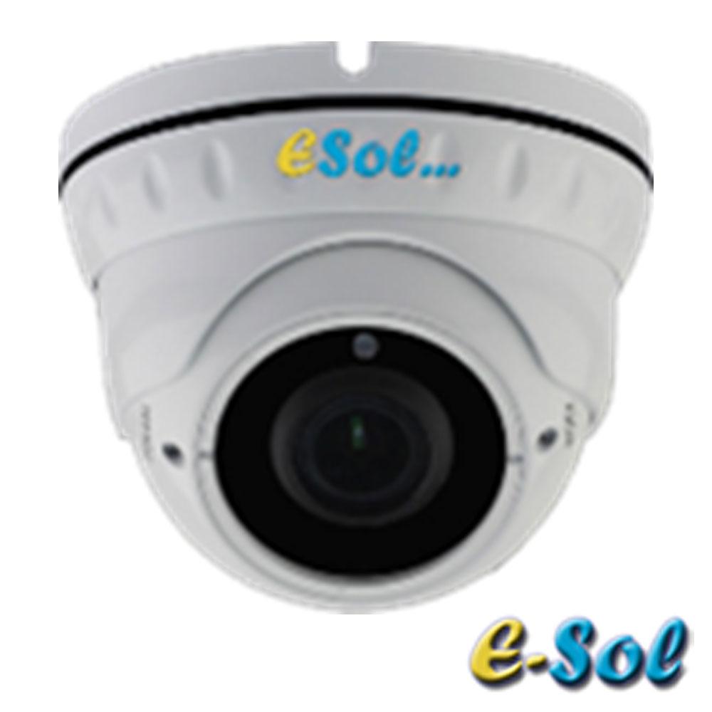 Camera IP 2MP, Exterior, IR 30m, Zoom 5x - e-Sol ESZ5D/30A