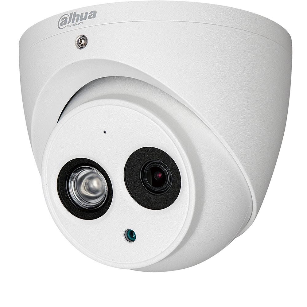 Camera 2MP Exterior, IR 50m, Microfon, Lentila 2.8 - Dahua HAC-HDW1200EM-A