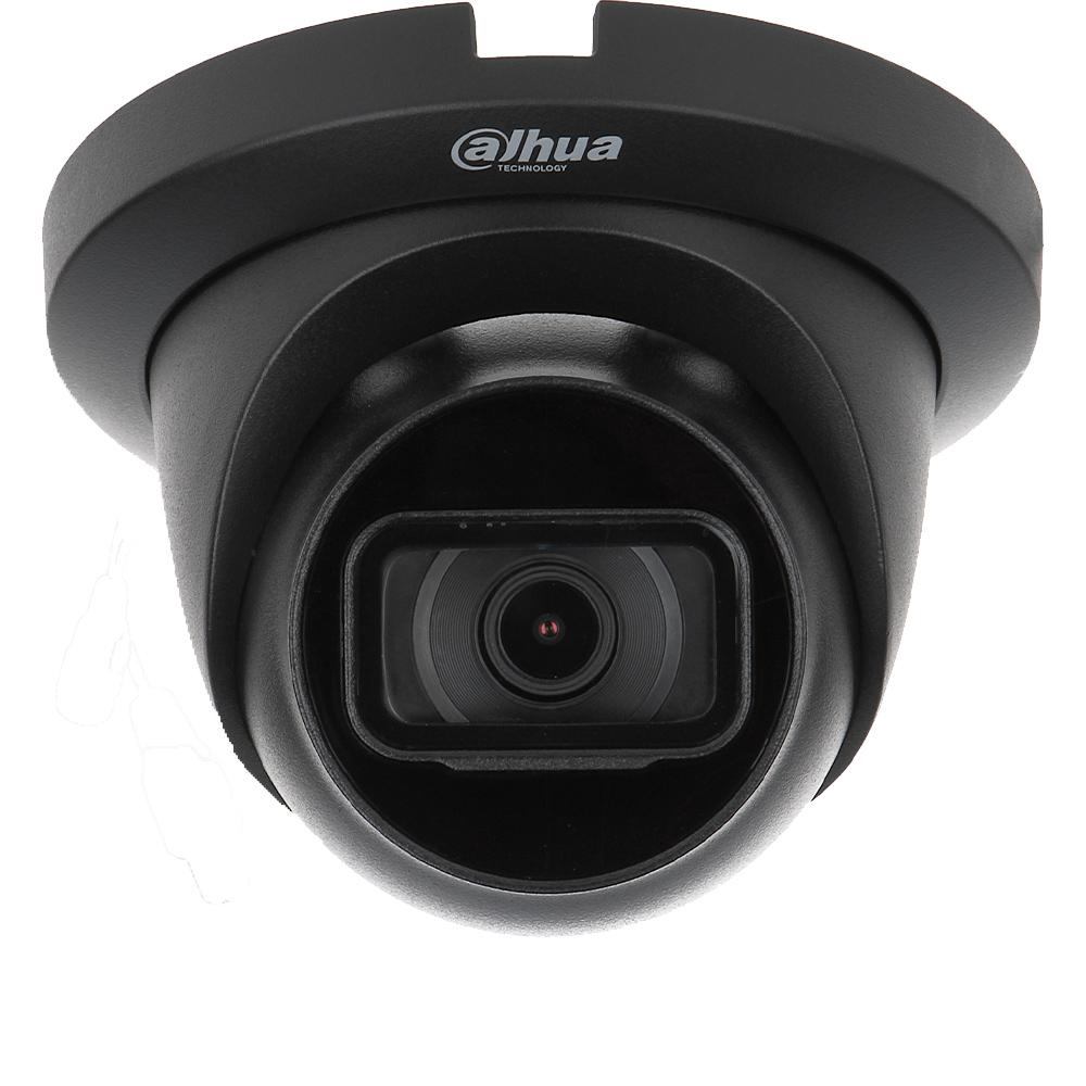 Camera 2MP, Exterior, IR 30m, Culoare neagra - Dahua HAC-HDW1200TLMQ-0280B-BLACK