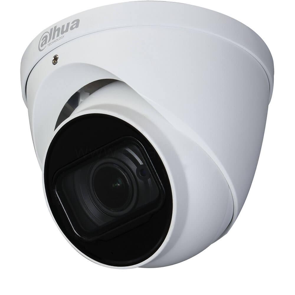 Camera 5MP, Exterior, IR 60m Dome, Zoom motorizat 4X, Microfon- Dahua HAC-HDW1500T-Z-A-2712