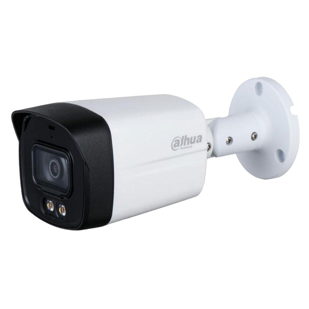 Camera 5MP, Exterior, Lumina Alba 40m, Microfon, 3.6mm - Dahua HAC-HFW1509TLM-A-LED