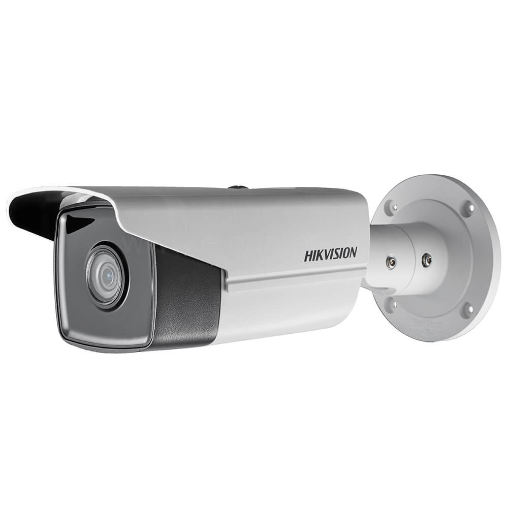 Cel mai bun pret pentru camera HD HIKVISION DS-2CD2T43G0-I8 cu 4 megapixeli, pentru sisteme supraveghere video