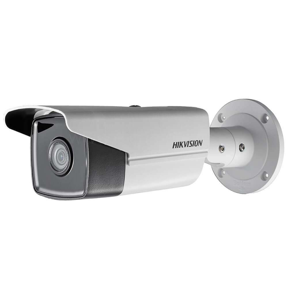 Cel mai bun pret pentru camera HD HIKVISION DS-2CD2T45FWD-I8 cu 4 megapixeli, pentru sisteme supraveghere video