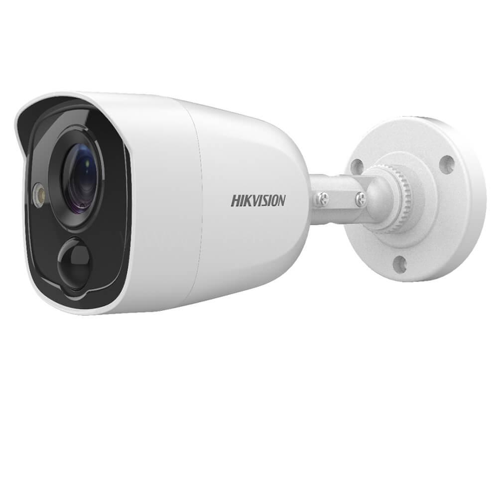 Camera Turbo HD 5MP, Exterior, IR 20m, Lentila 2.8, PIR - HikVision DS-2CE11H0T-PIRLPO