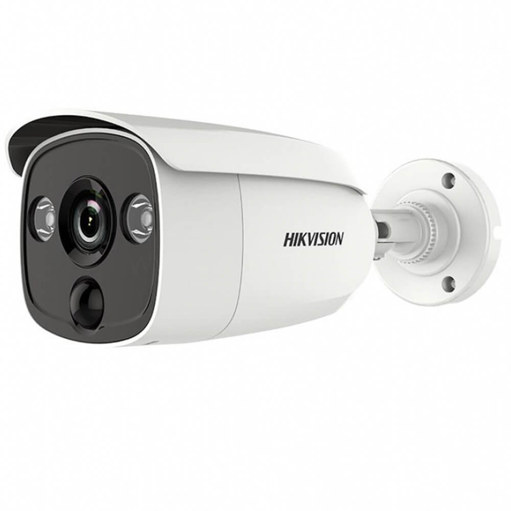Camera 5MP Exterior, IR 20m, lentila 3.6 - HikVision DS-2CE12H0T-PIRL