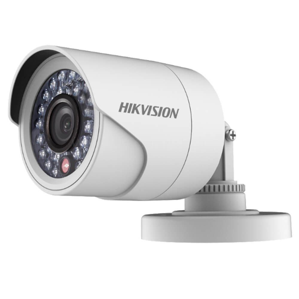 Camera 2MP Exterior, IR 20m, POC, lentila 2.8 - HikVision DS-2CE16D0T-IRPE