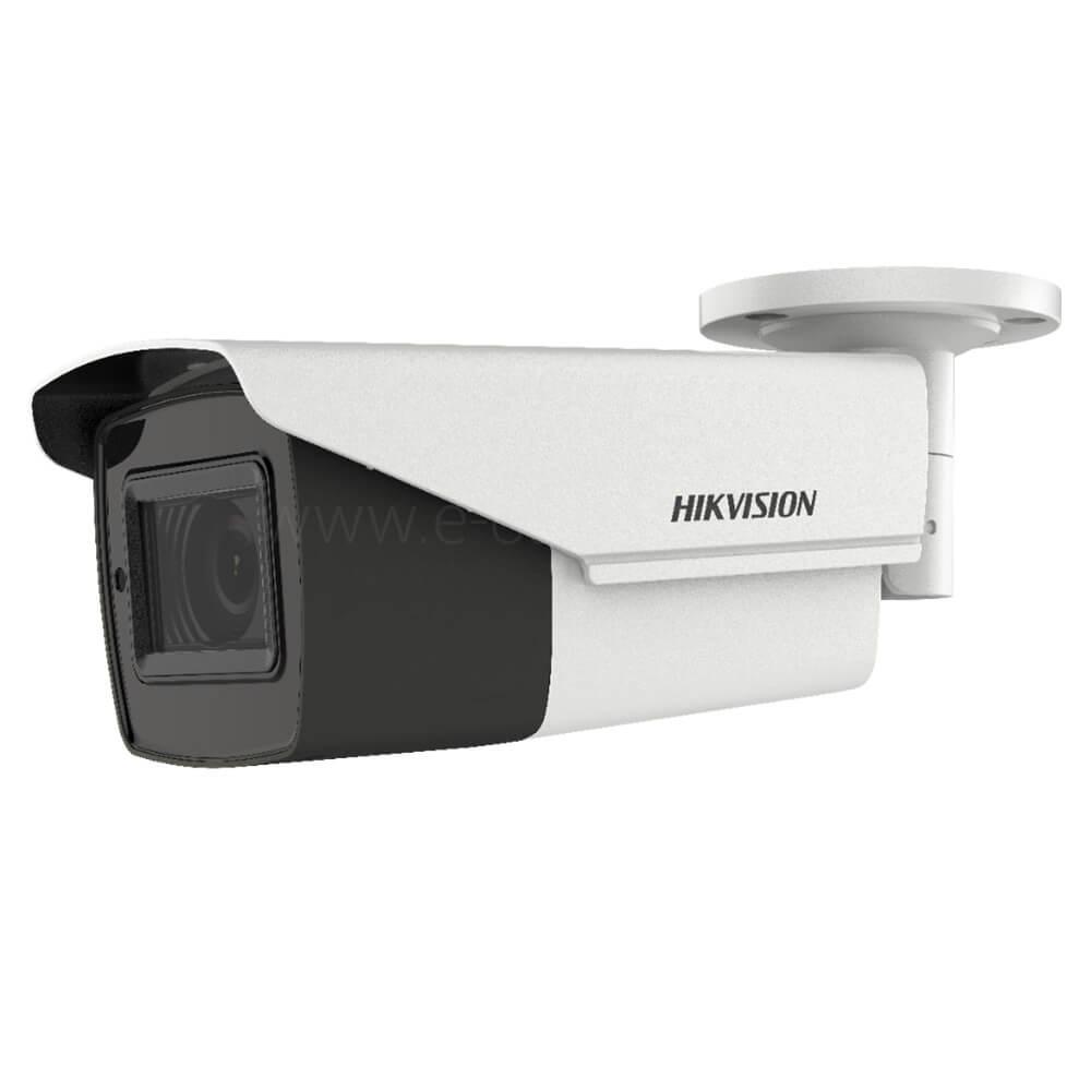 Camera 5MP Exterior, IR 40m, POC, Zoom 5x - HikVision DS-2CE16H0T-IT3ZE