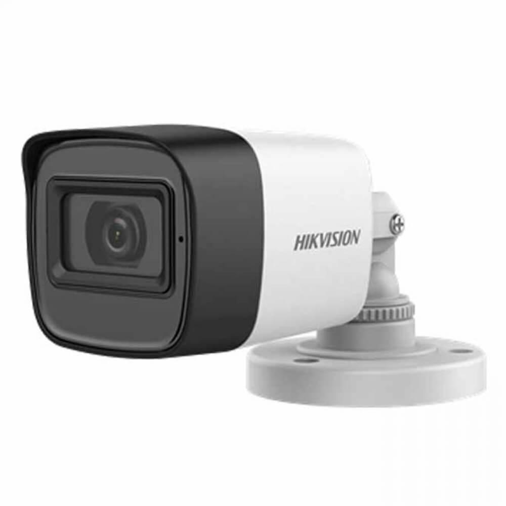 Camera 5MP Exterior, IR 20m, lentila 2.8, Microfon - HikVision DS-2CE16H0T-ITPFS2