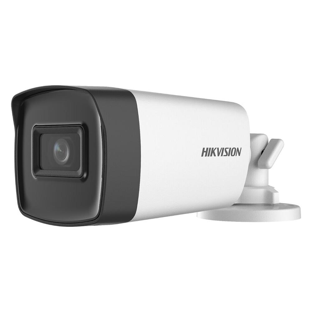 Camera de supraveghere 2MP, Exterior, IR 40m, Microfon, Lentila 2.8mm - HikVision DS-2CE17D0T-IT3FS2