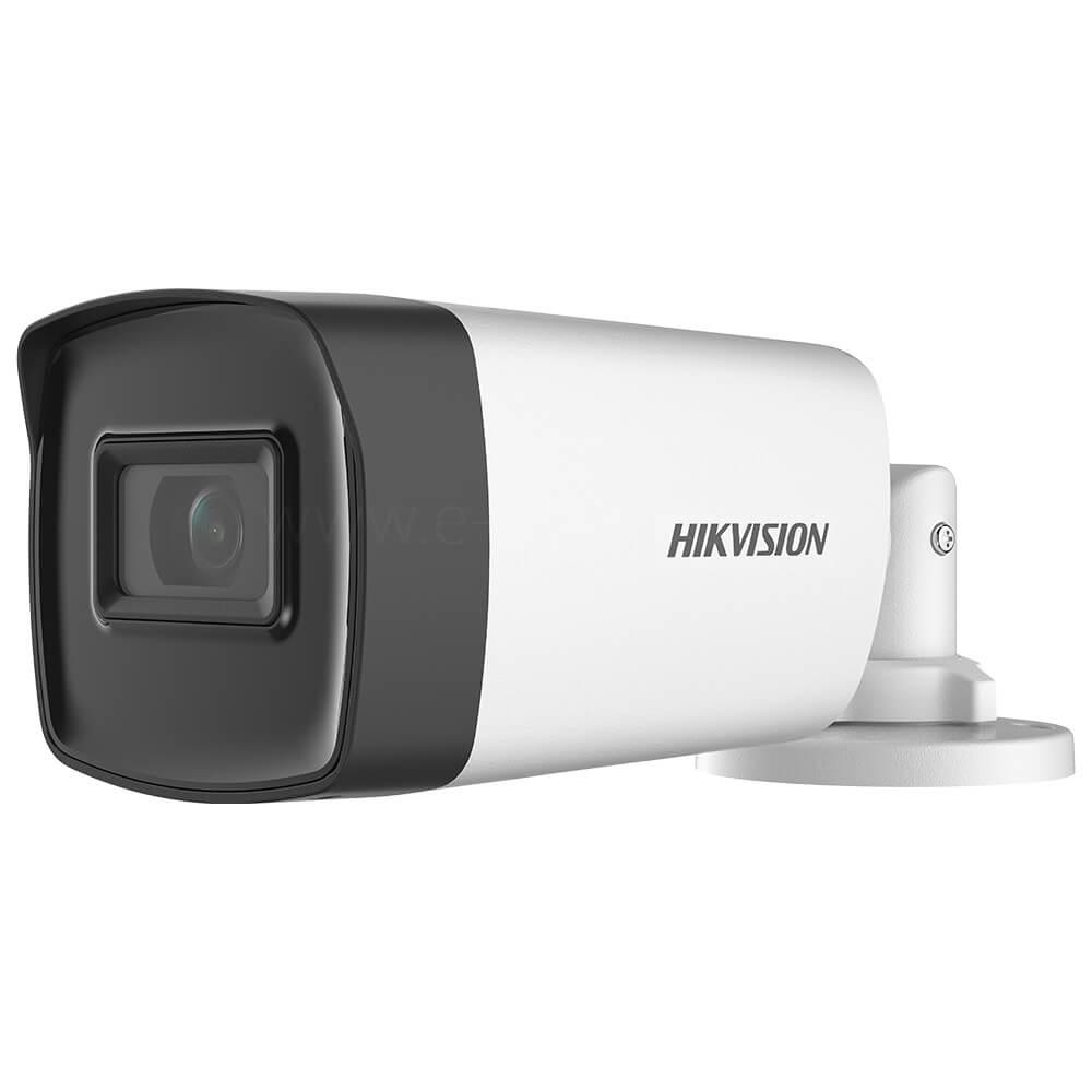 Camera Turbo HD 5MP, Exterior, IR 40m, Lentila 2.8, Microfon - HikVision DS-2CE17H0T-IT3FS2
