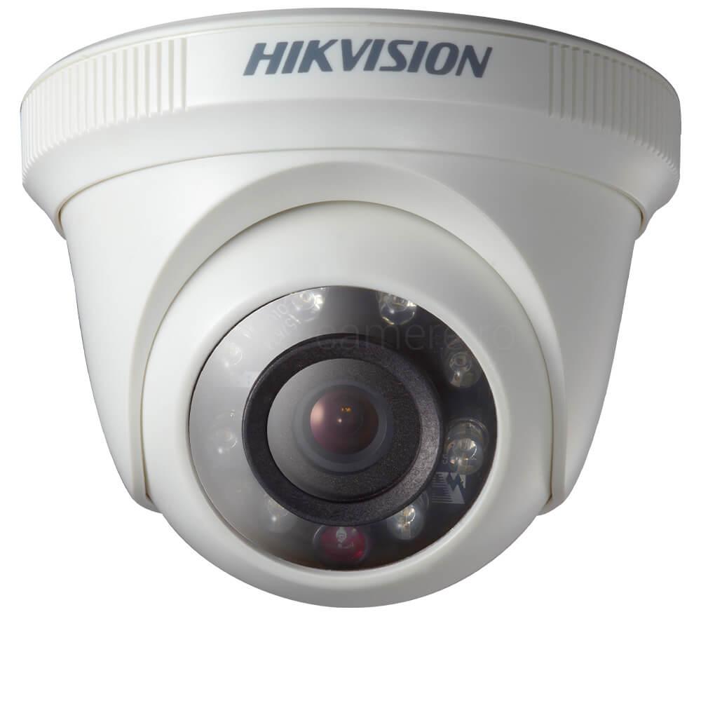 Camera 1MP Turbo HD, Interior, IR 20m, lentila 2.8 - HikVision DS-2CE56C0T-IRPF