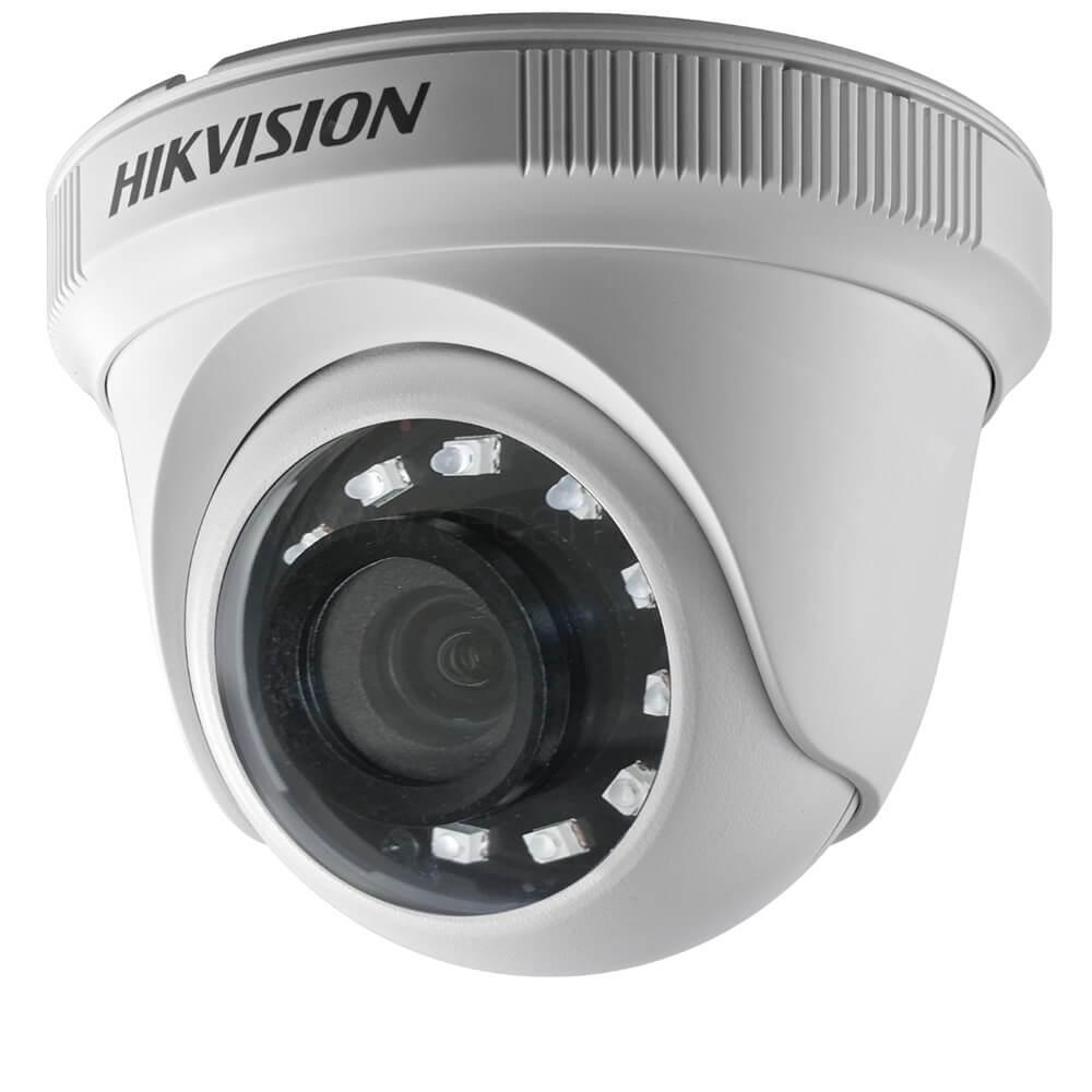 Camera HD 2MP, Exterior, IR 25m, Lentila 2.8, Dome - HikVision DS-2CE56D0T-IRF2C