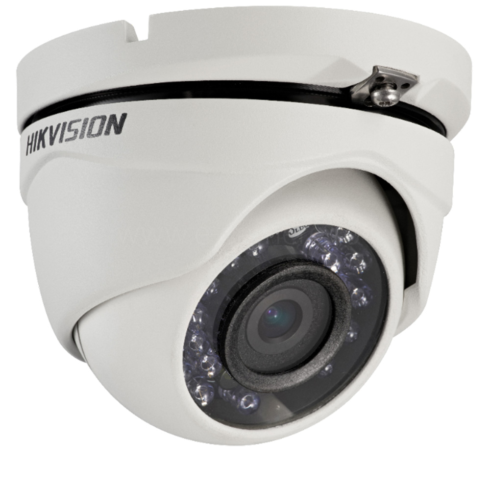Camera 2MP Turbo HD Exterior, IR 20m, lentila 2.8 - HikVision DS-2CE56D0T-IRMF