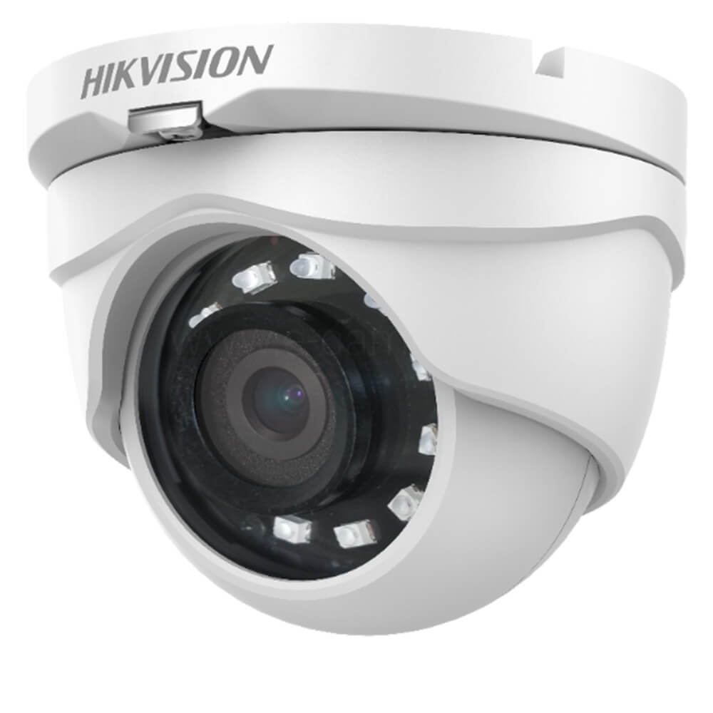 Camera HD 2MP, Exterior, IR 25m, Lentila 3.6, Dome - HikVision DS-2CE56D0T-IRMF3C