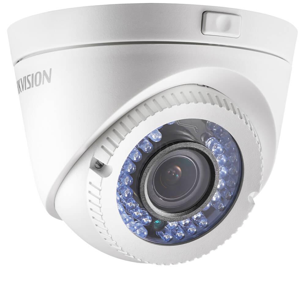 Camera 2MP Exterior, IR 40m, varifocala - HikVision DS-2CE56D0T-VFIR3F
