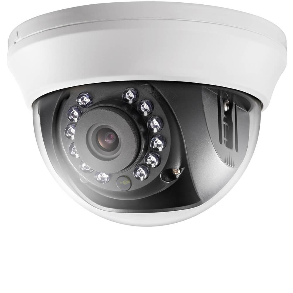Camera HD 5MP, Interior, IR 20m, Lentila 2.8, Dome - HikVision DS-2CE56H0T-IRMMFC