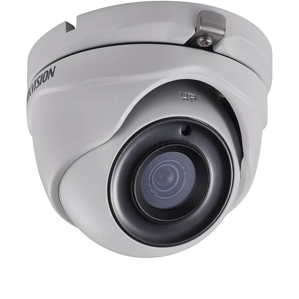 Camera 5MP, Exterior, IR 20m, Lentila fixa 2.8, POC - HikVision DS-2CE56H0T-ITME