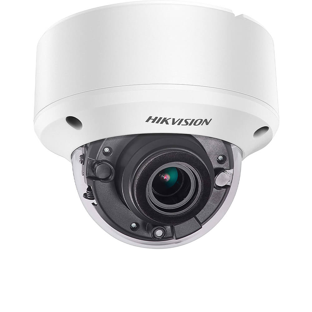 Camera Dome , Exterior, 5 MP, IR 40m , 2.7-13.5 mm,zoom motorizat- HikVision DS-2CE56H0T-VPIT3ZF