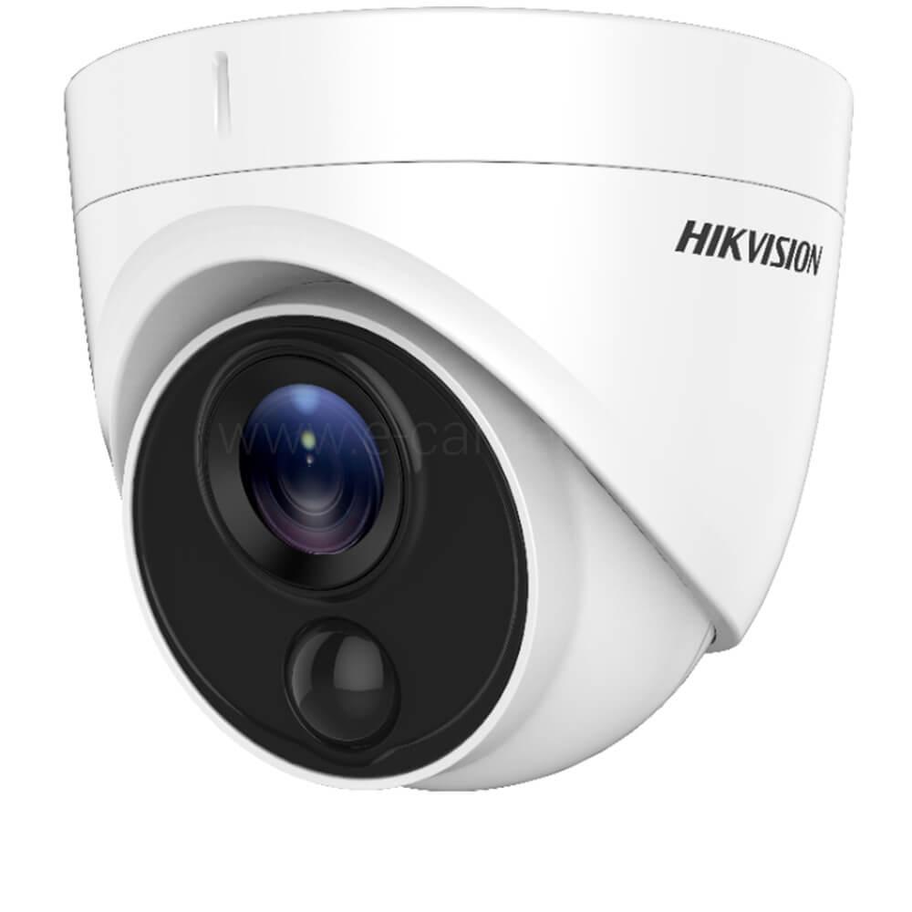 Camera 2MP Exterior, IR 20m, PIR, lentila 2.8 - HikVision DS-2CE71D8T-PIRL