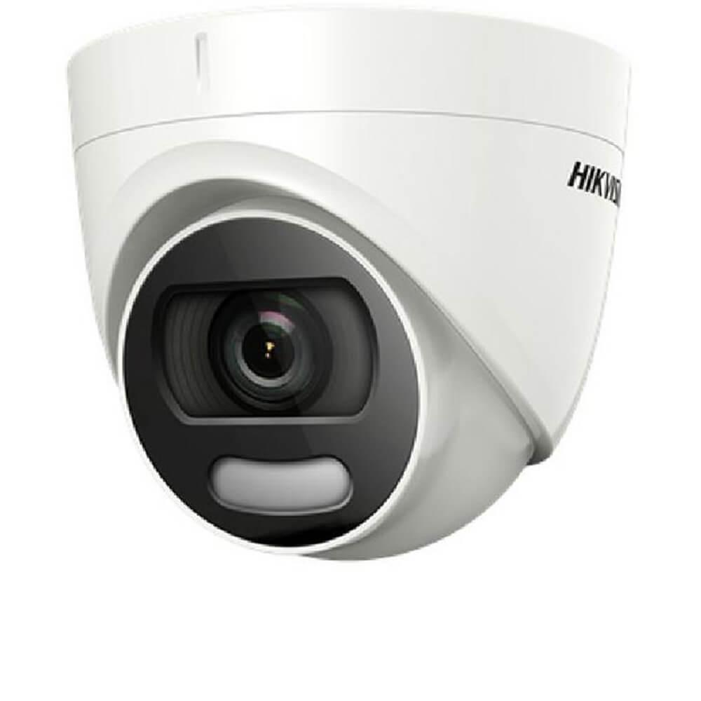 Camera 5MP , Exterior , 6mm , Lumina Alba 20m , ColorVu - HikVision DS-2CE72HFT-F-0600
