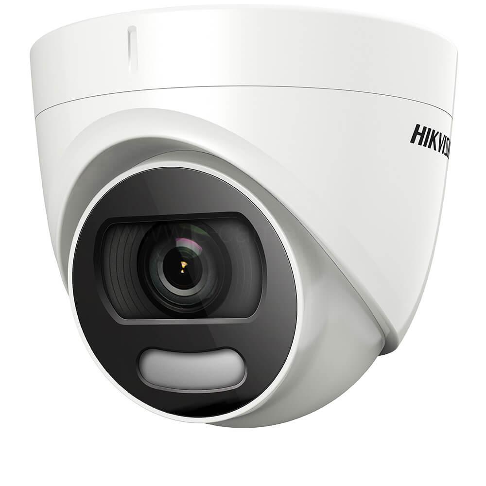 Camera 5MP, Exterior, Lumina Alba 20m, ColorVu, 2.8mm- HikVision DS-2CE72HFT-F28