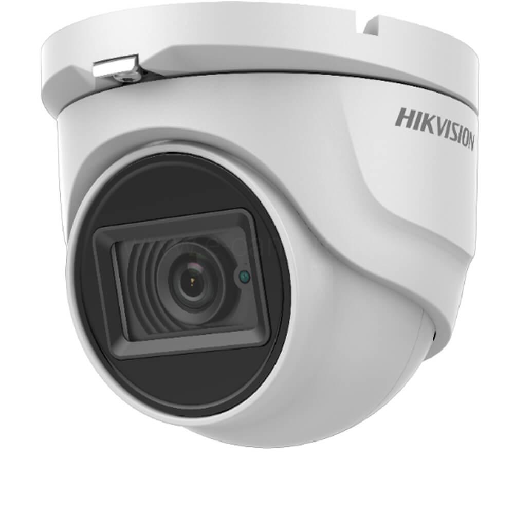 Camera Turbo HD, 2MP, Exterior, IR 30m, Lentila 2.8, Microfon - HikVision DS-2CE76D0T-ITMFS