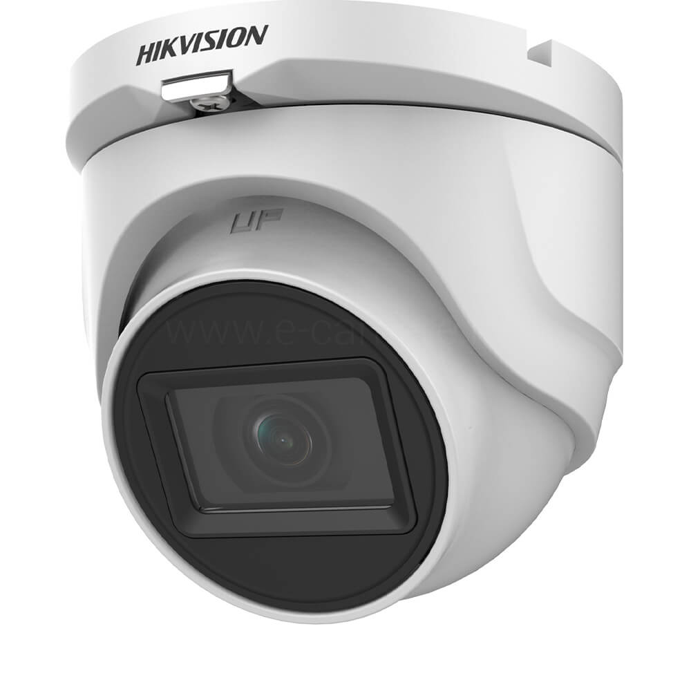 Camera Turbo HD 5MP, Exterior, IR 30m, Lentila 2.8, Microfon, Dome - HikVision DS-2CE76H0T-ITMFS2