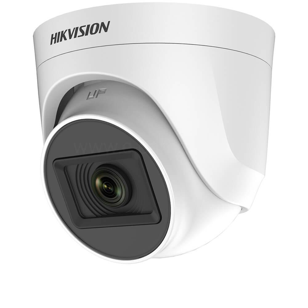 Camera HD 5MP, Exterior, IR 20m, Lentila 2.8, Dome - HikVision DS-2CE76H0T-ITPF2C