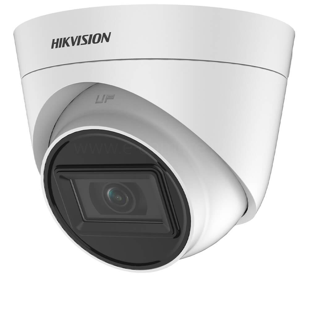 Camera 5MP, Exterior, IR 40m, Lentila fixa 2.8 - HikVision DS-2CE78H0T-IT3F