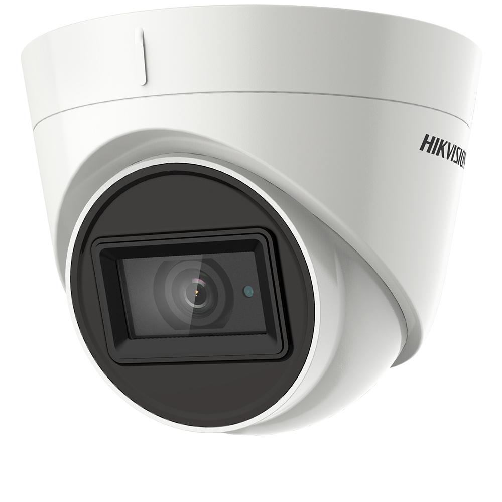Camera Exterior, 5MP, 2.8mm, IR 40m, Microfon, Exir- HikVision DS-2CE78H0T-IT3FS