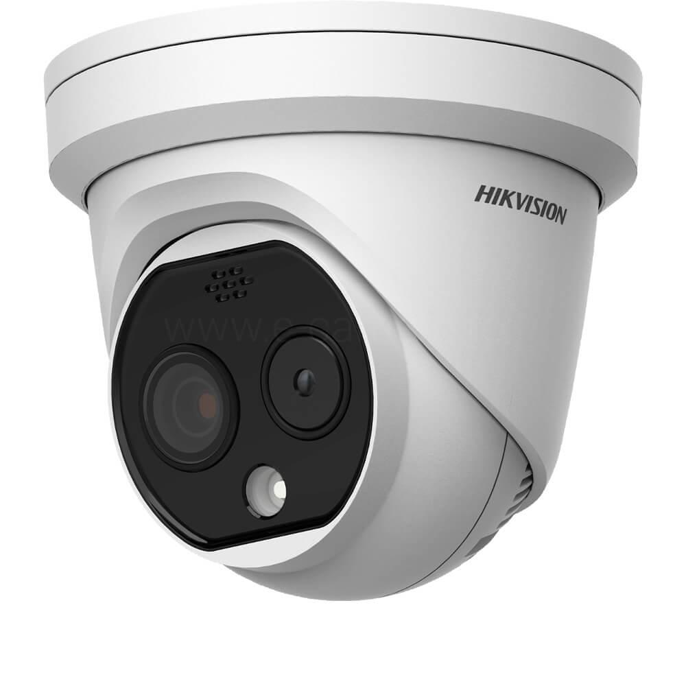 Cel mai bun pret pentru camera HD HIKVISION DS-2TD1217-2/PA cu 4 megapixeli, pentru sisteme supraveghere video