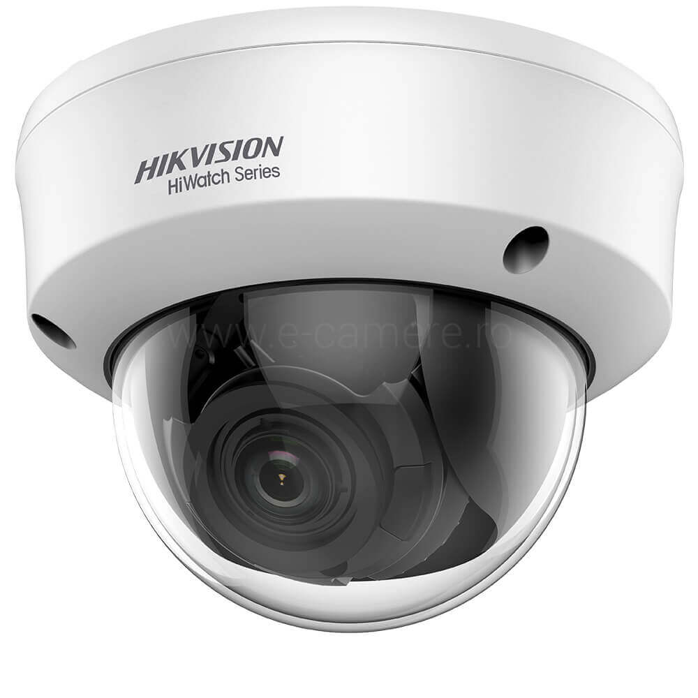 Camera Dome 4MP Exterior, IR 40m, varifocala - HikVision HiWatch HWT-D340-VF