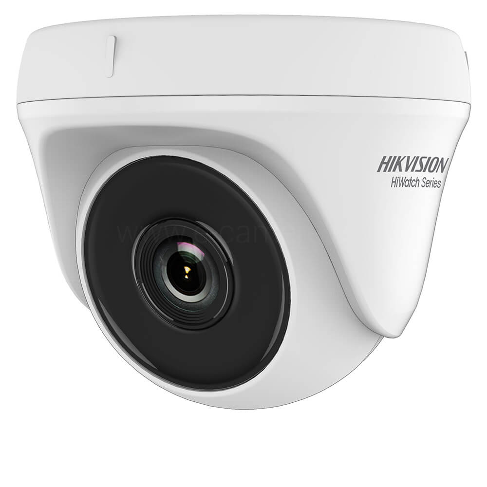 Camera Turbo HD 2MP, Interior, IR 20m, Lentila 2.8, Exir Dome- HikVision HiWatch HWT-T120-P