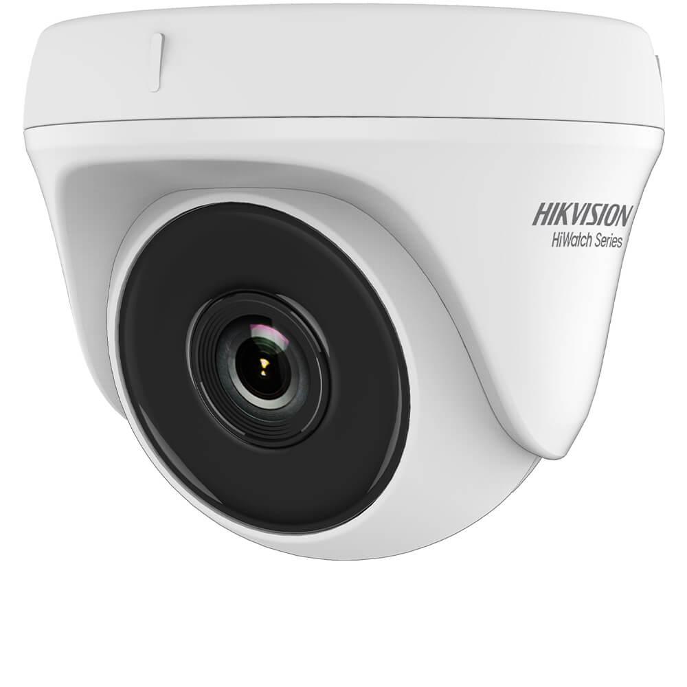 Camera Dome 4MP, Exterior, IR 20m, Lentila 2.8, Exir  - HikVisi- HikVision HiWatch HWT-T140