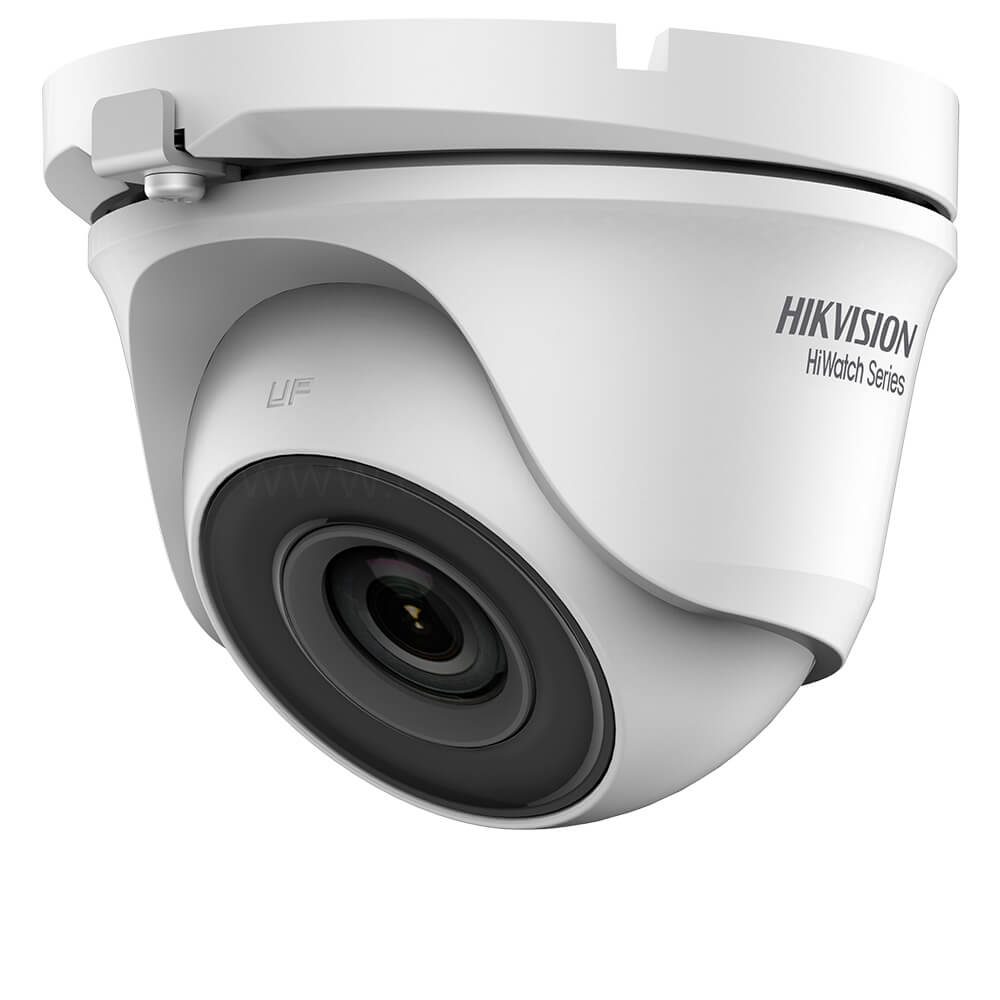 Camera Turbo HD 4MP, Exterior, IR 20m, Lentila 2.8, Exir, Dome - HikVision HiWatch HWT-T140-M