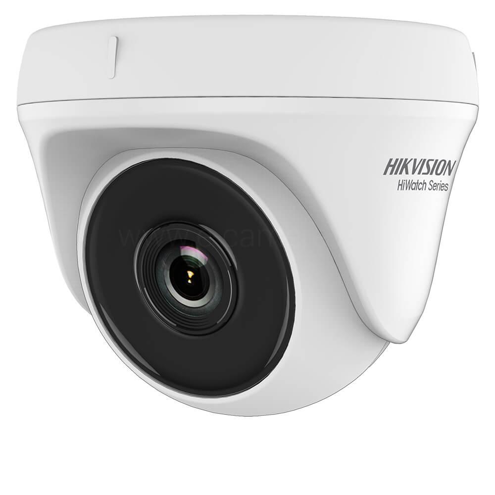 Camera Turbo HD 4MP, Interior, IR 20m, Lentila 2.8, Exir, Dome - HikVision HiWatch HWT-T140-P
