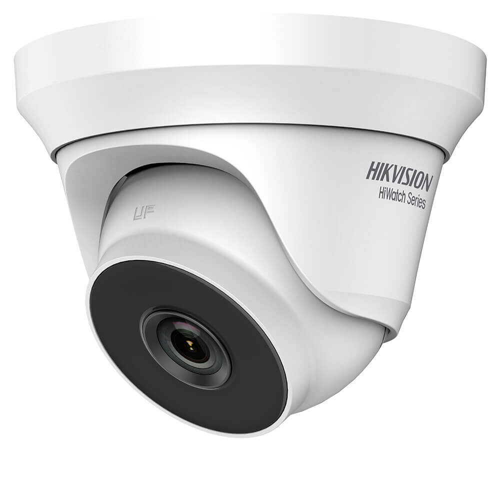 Camera 2MP, Exterior, IR 40m, Lentila Fixa 2.8mm, 4 in 1- HikVision HiWatch HWT-T220-M