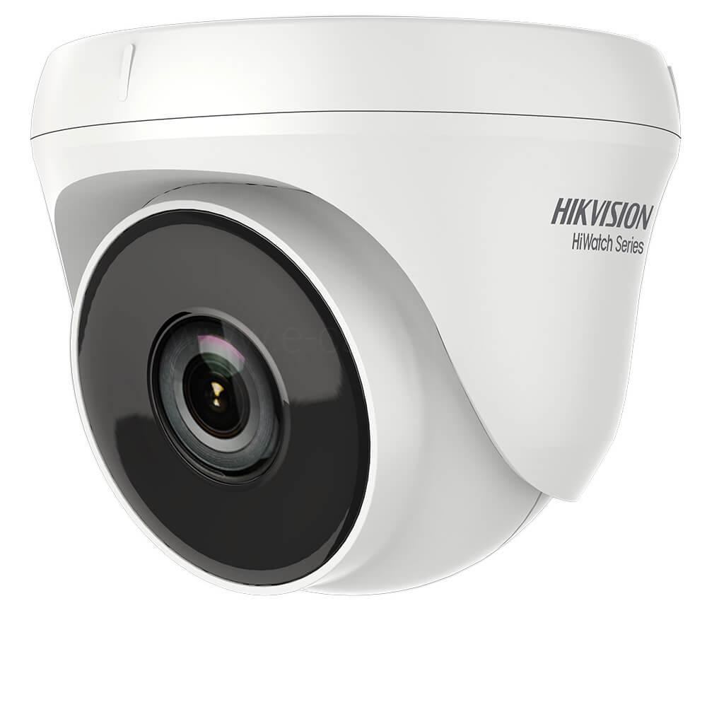 Camera Turbo HD 2MP, Exterior, IR 40m, Lentila 2.8, Exir, Dome - HikVision HiWatch HWT-T220-P