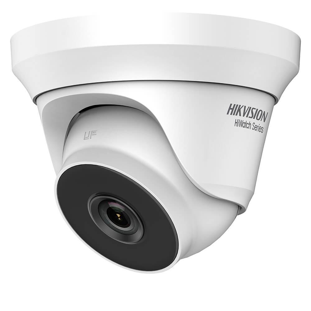 Camera Turbo HD 4MP, Exterior, IR 40m, Lentila 2.8, Exir, Dome - HikVision HiWatch HWT-T240-M