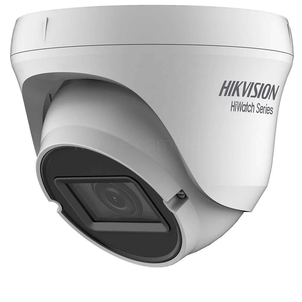 Camera 4MP, Exterior, IR 40m, Varifocala, Antivandal IK10, 4 in 1 - HikVision HiWatch HWT-T340-VF