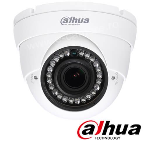 Camera 2MP Exterior, IR 30m, Varifocala - Dahua HAC-HDW1200R-VF