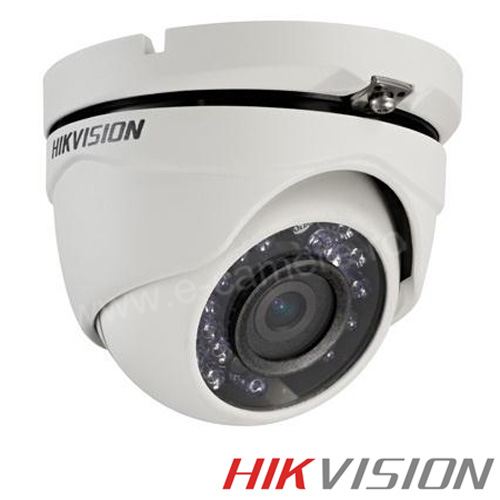 Camera 1MP Turbo HD Exterior, IR 20m, lentila 2.8 - HikVision DS-2CE56C0T-IRMF