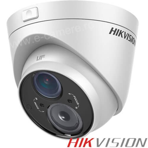 Camera Turbo HD Exterior 1MP, IR 50m, Varifocala  - HikVision DS-2CE56C5T-VFIT3
