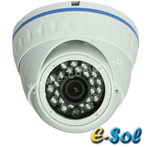 Camera 1MP Exterior, IR 20m, lentila 3.6 - e-Sol D100/20A