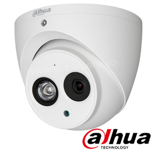 Camera 2MP Exterior, IR 50m, Microfon, Lentila 3.6 - Dahua HAC-HDW1200EM-A