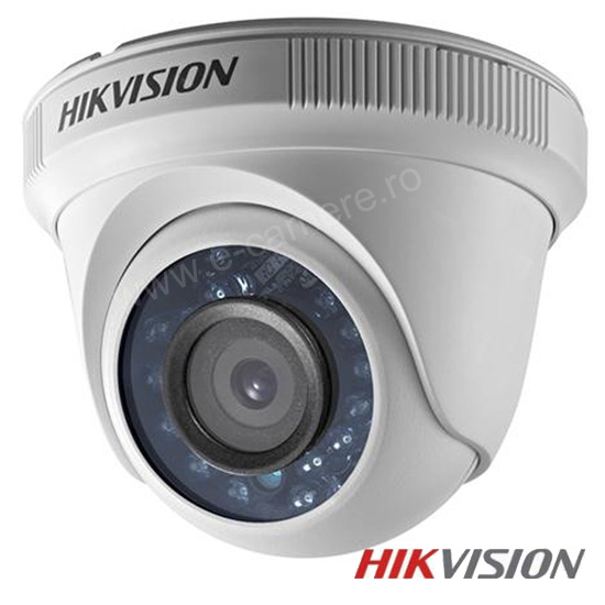 Camera 1MP Turbo HD, Interior, IR 20m, lentila 2.8 - HikVision DS-2CE56C0T-IRPF