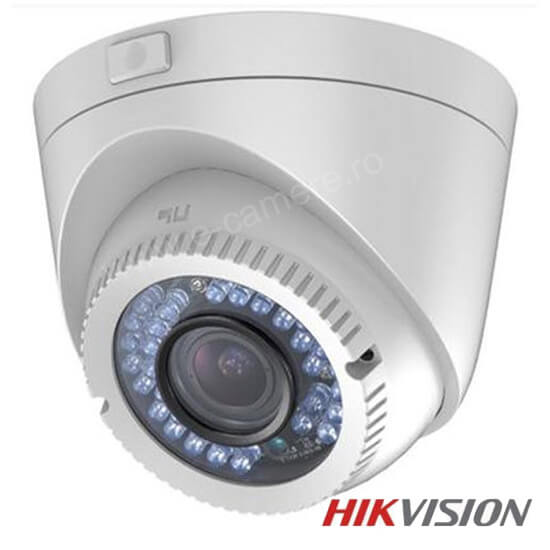 Camera 2MP Turbo HD Exterior, Zoom 4x, IR 40m - HikVision DS-2CE56D5T-IR3Z