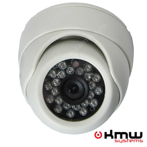 Cel mai bun pret pentru camera KMW KM-110HW cu 800 linii TV, pentru sisteme supraveghere video