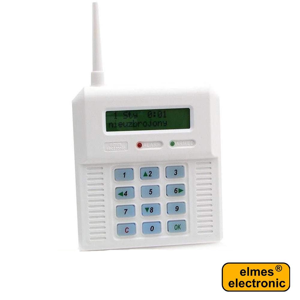 Centrala alarma wireless 32 zone - Elmes CB32N