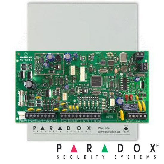 Centrala alarma SP6000, in cutie cu transformator - Paradox SP6000-Box